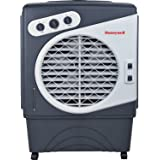 Honeywell Powerful Outdoor Portable Evaporative Cooler with Fan, Long-Lasting Honeywell Honeycomb Pads  on 3 sides & Copper Continuous Water Supply Connection, CO60PM