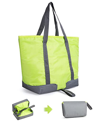 a6ac2e7cce07 Amazon.com: XMBEDERT Insulated Outdoor Picnic Tote Cooler Lunch Bag ...