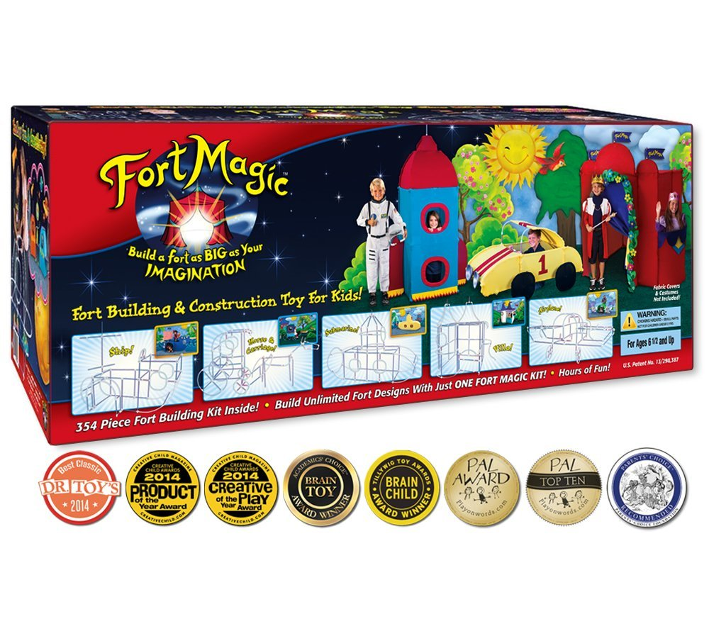 Fort Magic: Fort Building & Construction Toy Kit by Fort Magic (Image #1)
