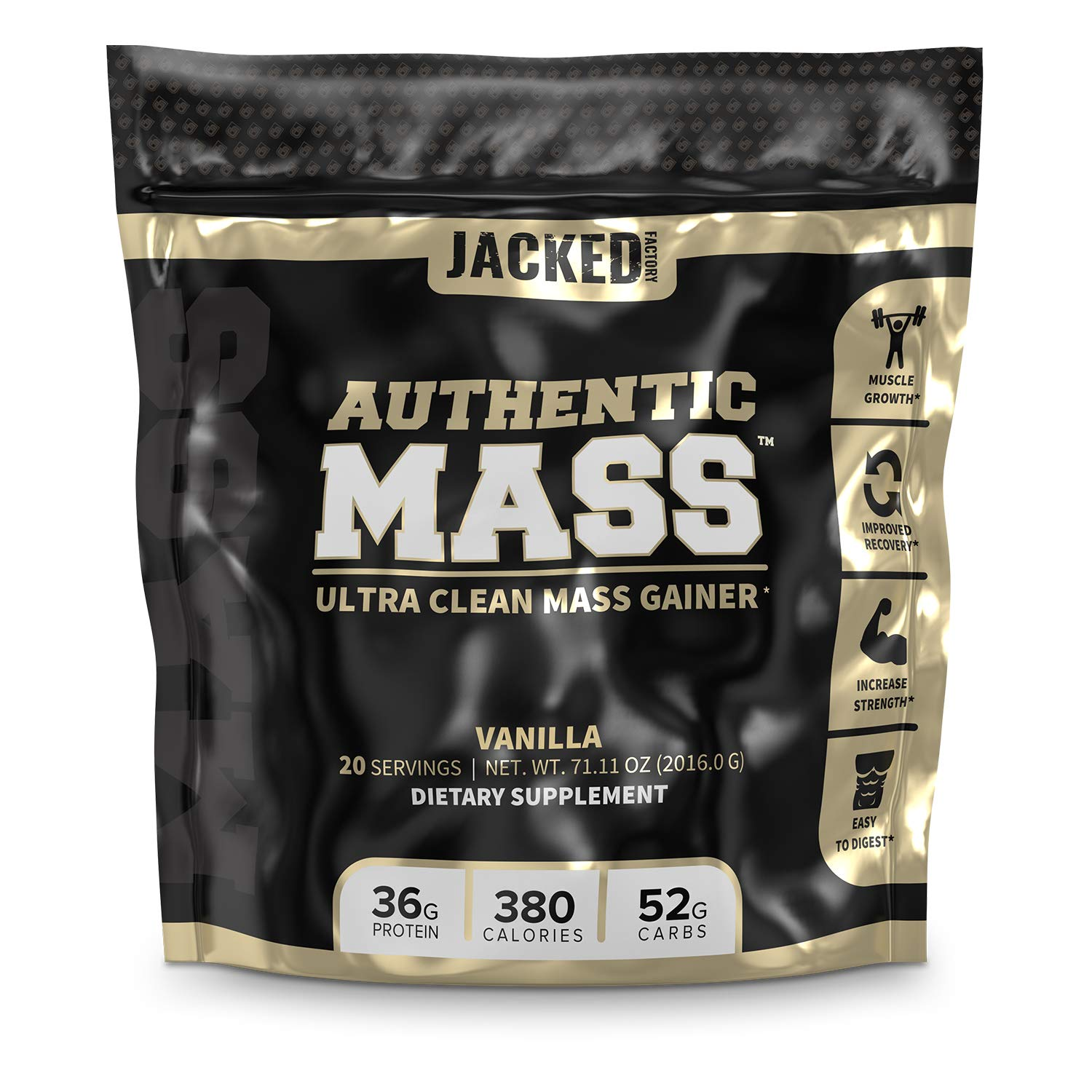 AUTHENTIC MASS Protein Powder Lean Muscle Growth Helps ...