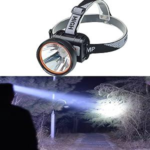 Eornmor超強力3000ルーメン充電式LEDヘッドライト