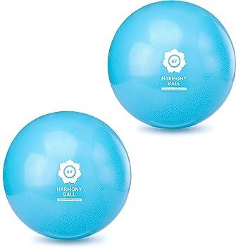 Harmony Ball Air/Fascia pelota/Yoga/Pilates pelota de gimnasia -- ftalatos - pálido