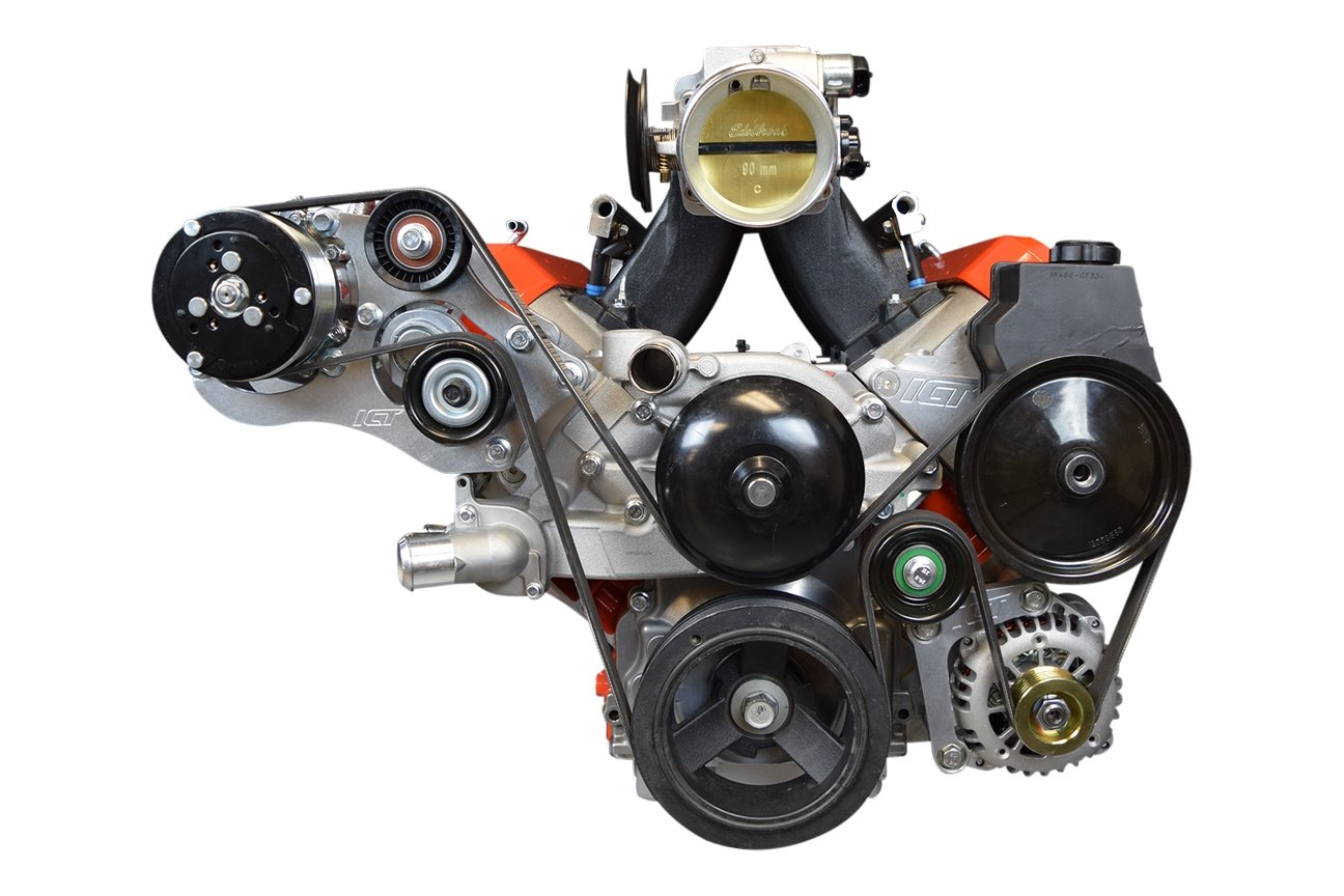 Amazon.com: Sanden 508 LS1 Camaro A/C Air Conditioner Compressor Bracket Kit LS LSX AC: Automotive