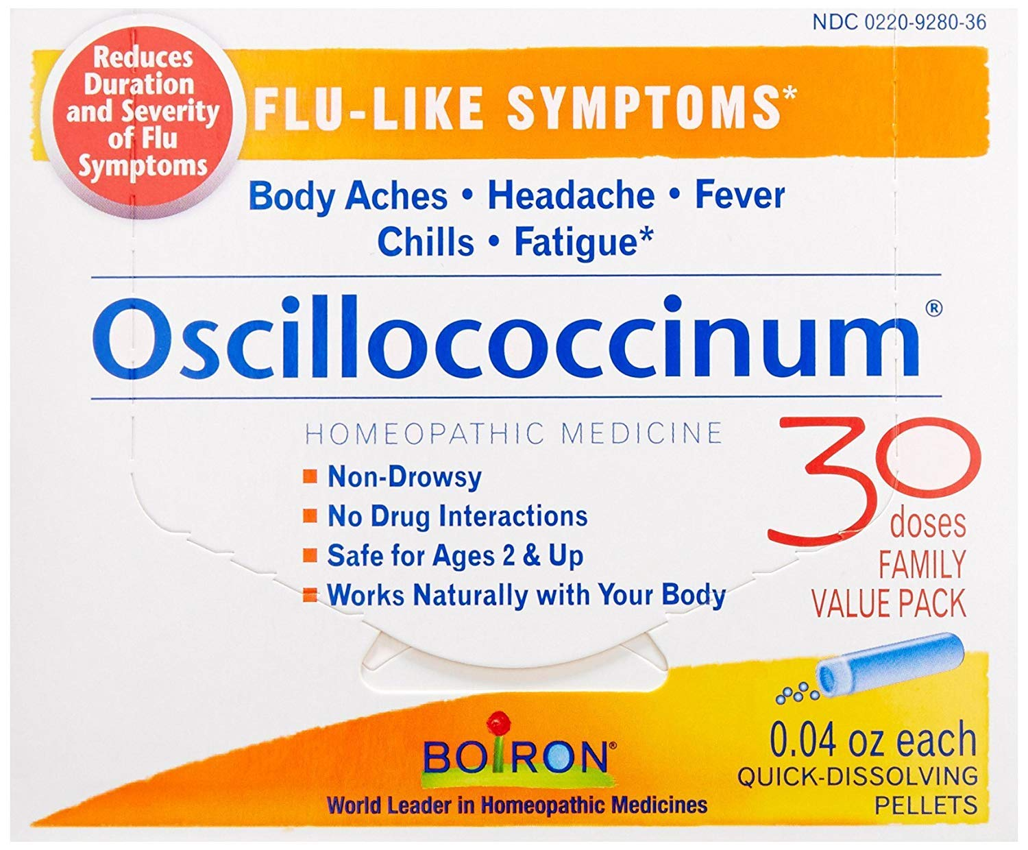 Boiron Oscillococcinum, Family Value Pack (Pack - 3) by Boiron