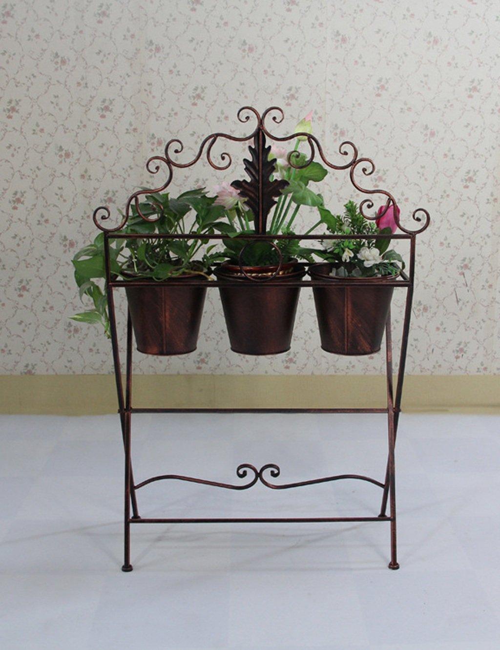 Lb europ ische stil drei tier blumen rack pastoral balkon for Wohnzimmer blumen