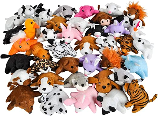Super Soft Stuffed Animals For Babies, Amazon Com Rhode Island Novelty 3 Inch Bean Bag Plush Assortment 50 Pieces Per Order Home Kitchen