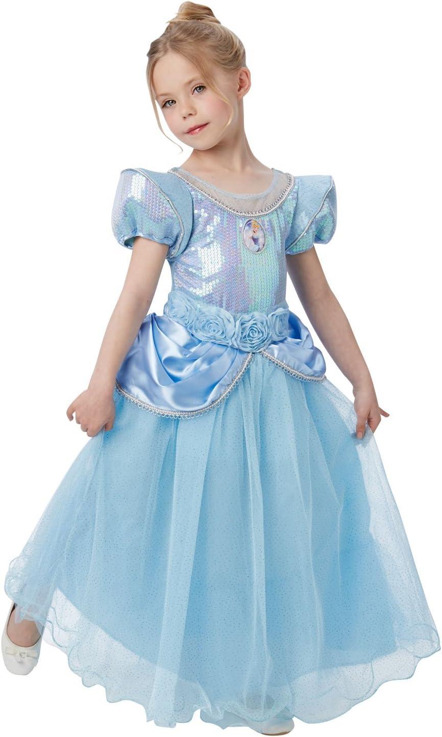 Princesas Disney - Disfraz de Cenicienta Premium para niña ...