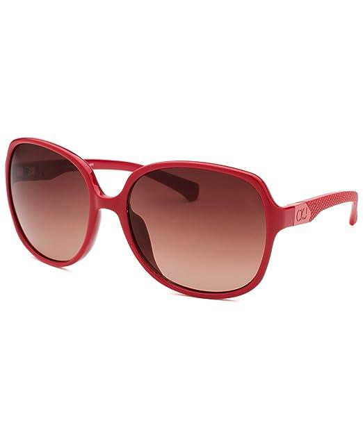 59d133c24f1 Calvin Klein Jeans Sunglasses CKJ722S 600 Red Pink Gradient  Amazon.ca   Clothing   Accessories
