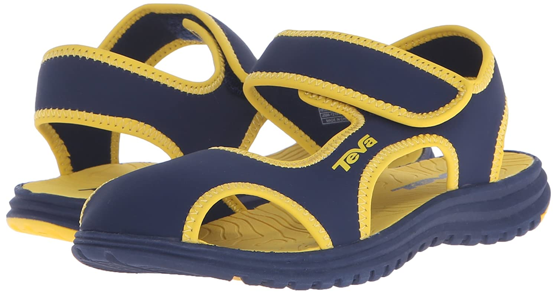 53f8e9577 Teva Kids Tidepool Closed Toe Hard Sole Sandal  Amazon.ca  Shoes   Handbags