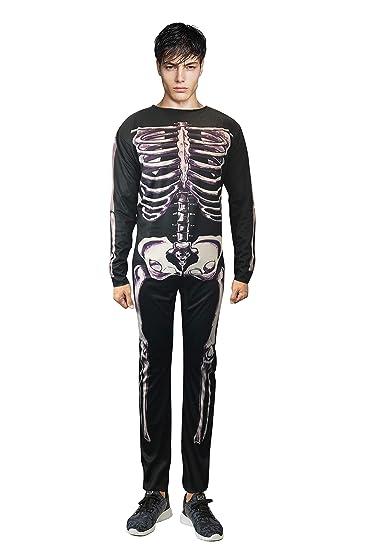 Donnie Darko Skeleton Suit Party Adult Costume Fancy Jumpsuit