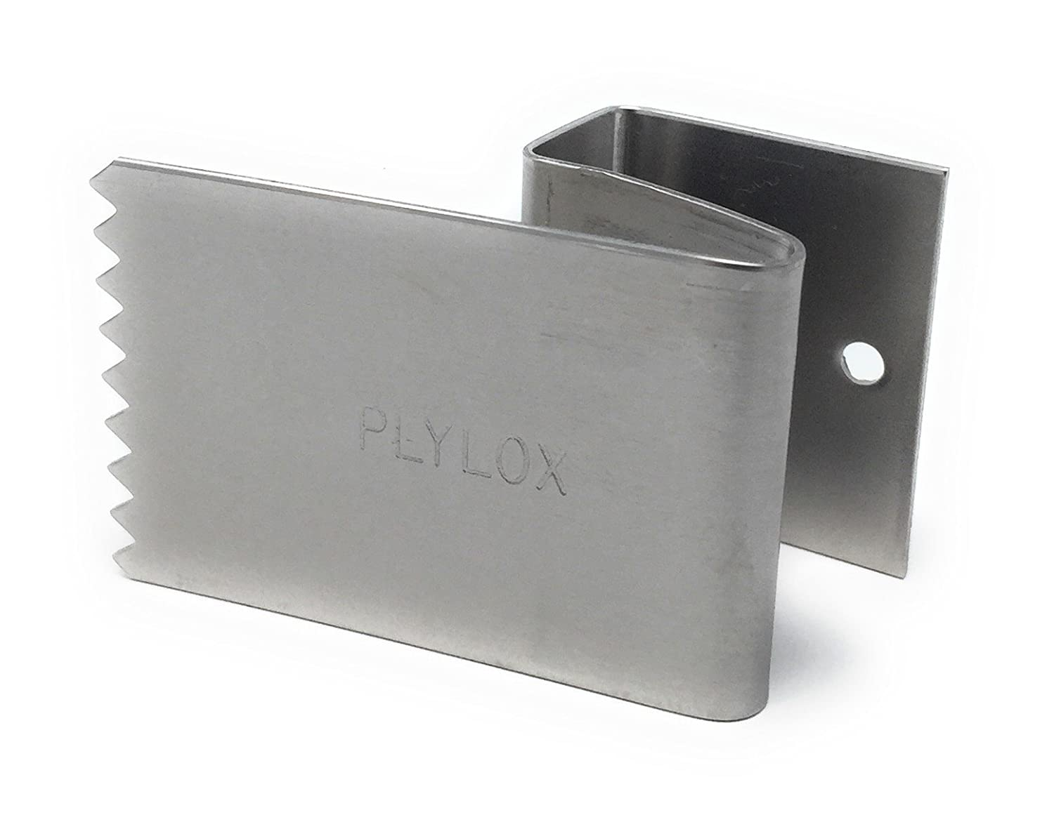 Plylox Hurricane Window Clips 20 Pack Stainless Steel 34