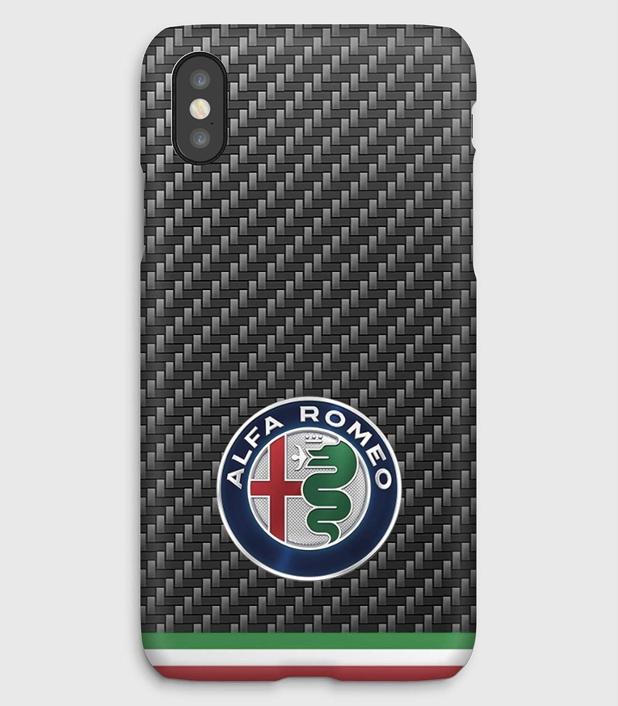Alfa Romeo, coque pour iPhone XS, XS Max, XR, X, 8, 8+, 7, 7+, 6S, 6, 6S+, 6+, 5C, 5, 5S, 5SE, 4S, 4,
