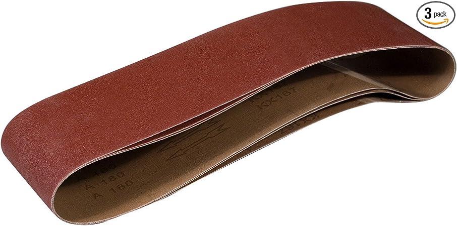 80-Grit Sanding Belt Oxide Aluminum Premium New Ideal Diablo 4 in x 36 in