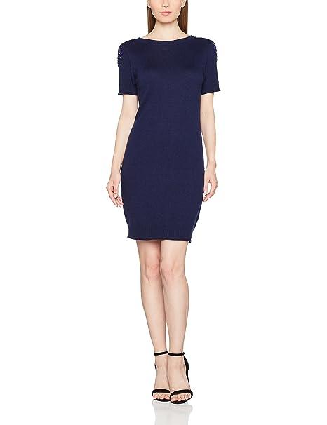 Lola Casademunt CA576, Vestido Para Mujer, Azul (Unico), Medium