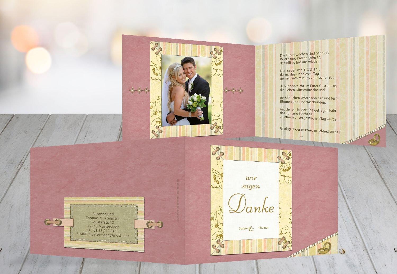 Kartenparadies Danksagung für Hochzeitsgeschenke Hochzeit Dankeskarte Bund für's Leben, hochwertige hochwertige hochwertige Danksagungskarte Hochzeitsglückwünsche inklusive Umschläge   20 Karten - (Format  148x105 mm) Farbe  LilaFlieder B01MZC735X   Lebh 09a0cd