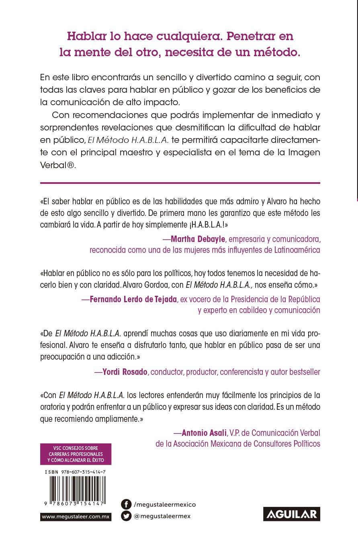 Amazon.com: El método H.A.B.L.A / The S.P.E.A.K. Method (Spanish Edition)  (9786073154147): Alvaro Gordoa: Books