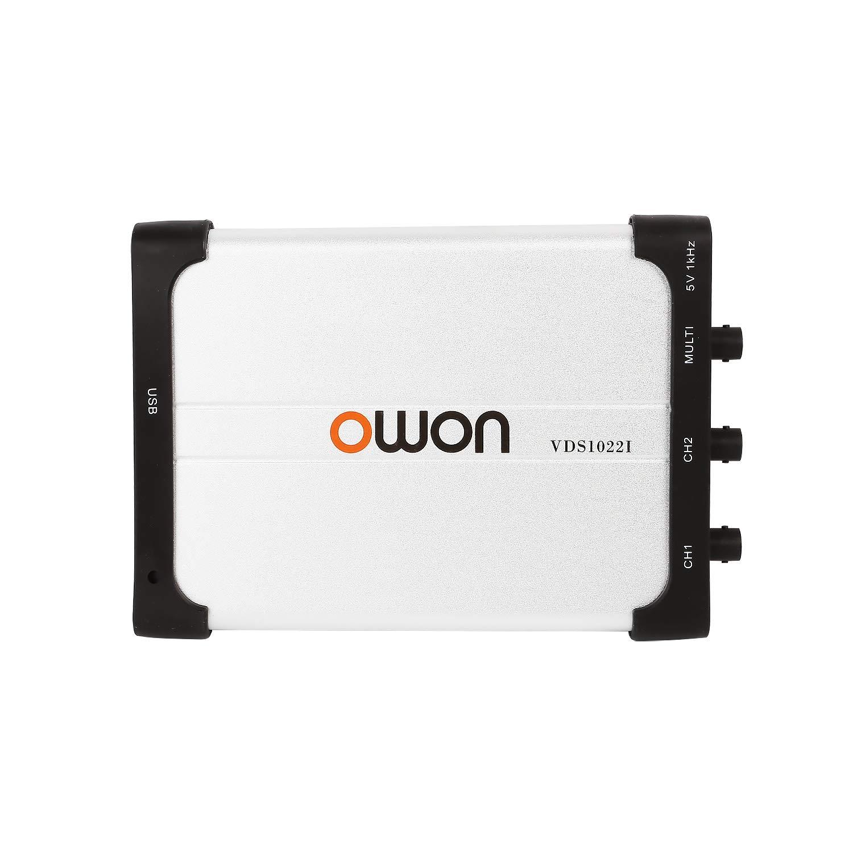 Owon VDS1022I USB PC Virtual Oscilloscope, MIT USB Isolation, 25 MHz Analog Bandwidth