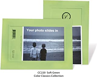 "product image for Photo Note Cards for 4"" x 6"" image 10 Pack with Envelopes ColorClassics (Soft Green)"