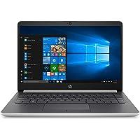 "HP 14-dk0031nl Notebook, AMD Ryzen 3 3200U, RAM 8 GB, SSD 256 GB, Radeon Vega 3, Windows 10 Home, Display HD SVA Antiriflesso 14"", Audio Bang&Olufsen, HP TrueVision HD Camera, HP Fast Charge, Argento"