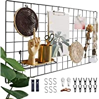 Actualice el estante de la rejilla de la pared, la rejilla de hierro DIY de la foto, la decoración de la pared, el…