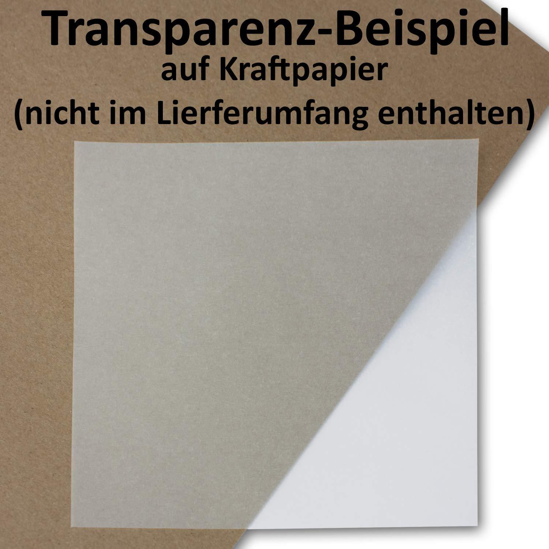 500x doppeltes Einlege-Papier für quadratische quadratische quadratische Karten - transparent-weiß - gefaltet 15 x 15 cm -ungefaltet 15 x 30 cm   Bedruckbar mit Laser   hochwertig mattes Papier von NEUSER® B07Q44WV91 | Hochwertig  6d9ee1