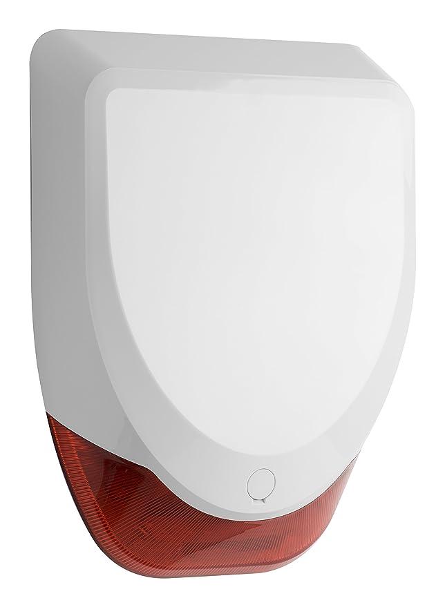 16 opinioni per Honeywell Sef8Ms Evohome Security Sirena a Batterie senza Fili Esterna, Bianco