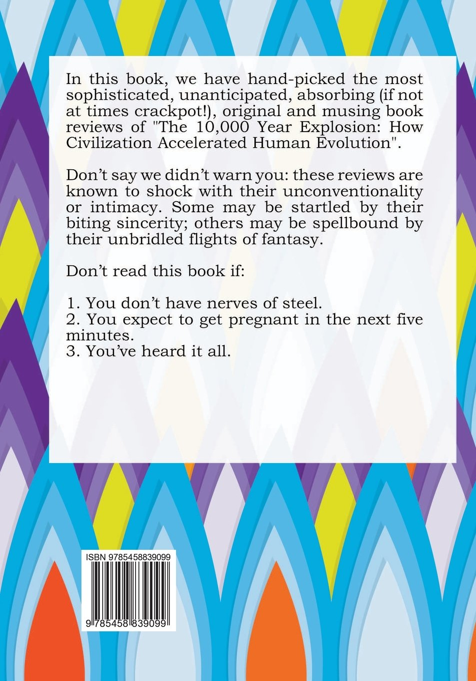 100 Interesting Factoids about the 10, 000 Year Explosion: How Civilization  Accelerated Human Evolution: Jack Darting: 9785458839099: Amazon.com: Books