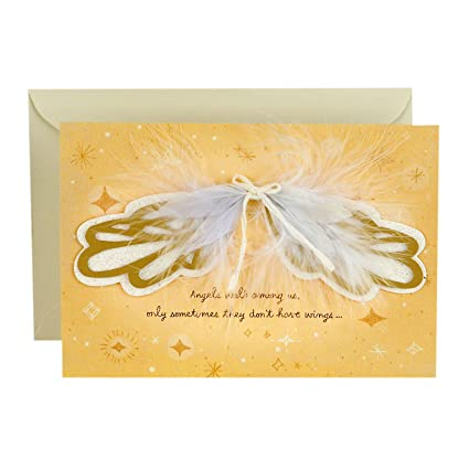 Amazon hallmark signature birthday greeting card for mom hallmark signature birthday greeting card for mom angel wings m4hsunfo