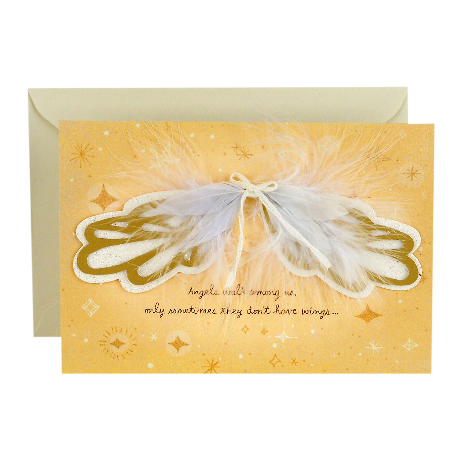Hallmark Signature Birthday Greeting Card For Mom Angel Wings