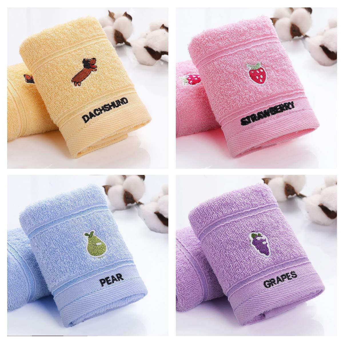 BB Hapeayou Toallitas para bebés, Toallas de bebé de algodón suave orgánico para recién nacidos/bebés/niños, 10x20 pulgadas (8 piezas): Amazon.es: Bebé