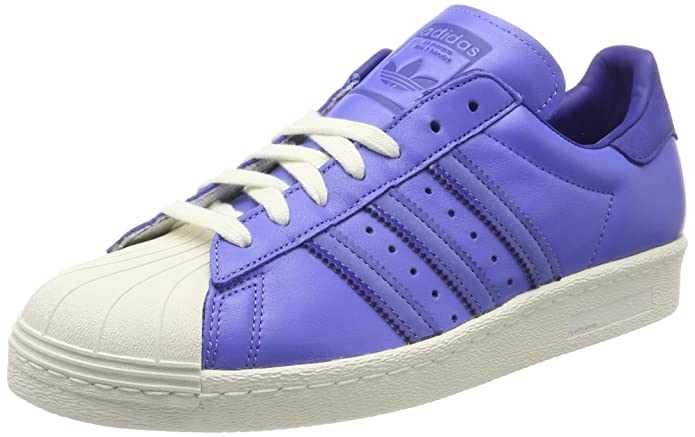 adidas Superstar Schuhe Herren Low-Top Lila (Real Lilac)
