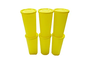 33567f6fd56 Buy Tupperware Plastic Cutie Tumbler with Soft Cotton Handkerchief (250 ml)  Set of 6 Online at Low Prices in India - Amazon.in