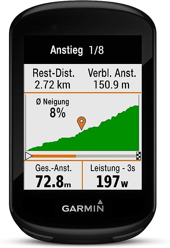 Garmin GPS Mano Ciclismo Edge 830 Unisex Adulto, Negro(Negro ...