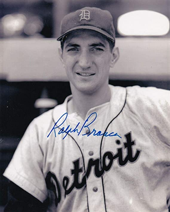 RALPH BRANCA Tigers ACTION SIGNED 8x10 - Autographed MLB Photos at Amazon's  Sports Collectibles Store