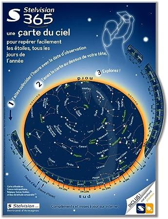 stelvision carte du ciel Stelvision 365   Une carte du ciel pour repérer facilement les