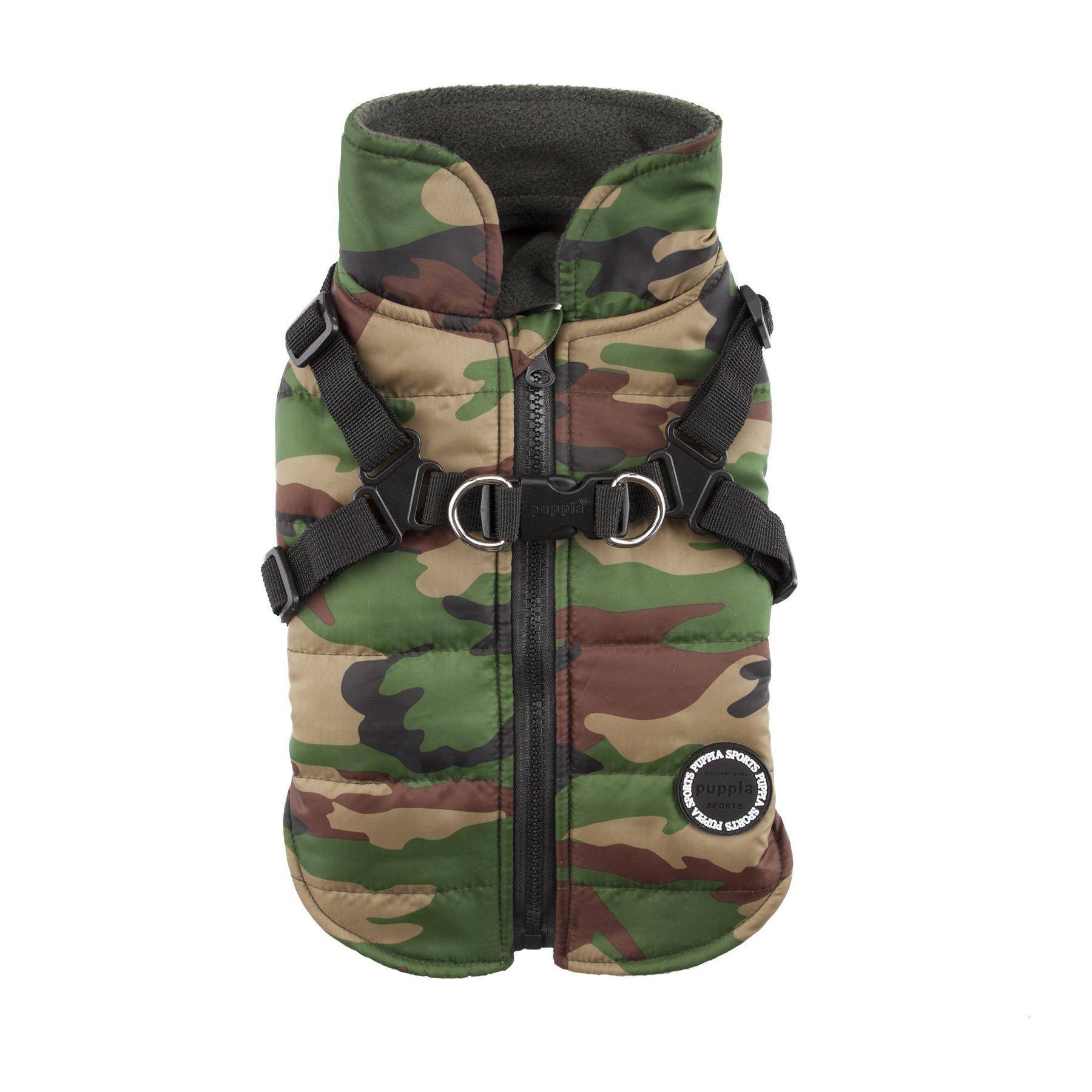 Puppia Authentic Mountaineer II Winter Vest, Medium, Camo