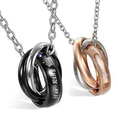 Bague et collier pour femme