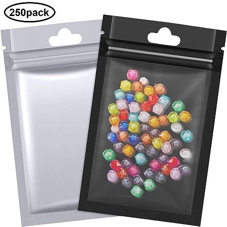 Amazon.com: Bolsas de papel de aluminio de doble cara para ...