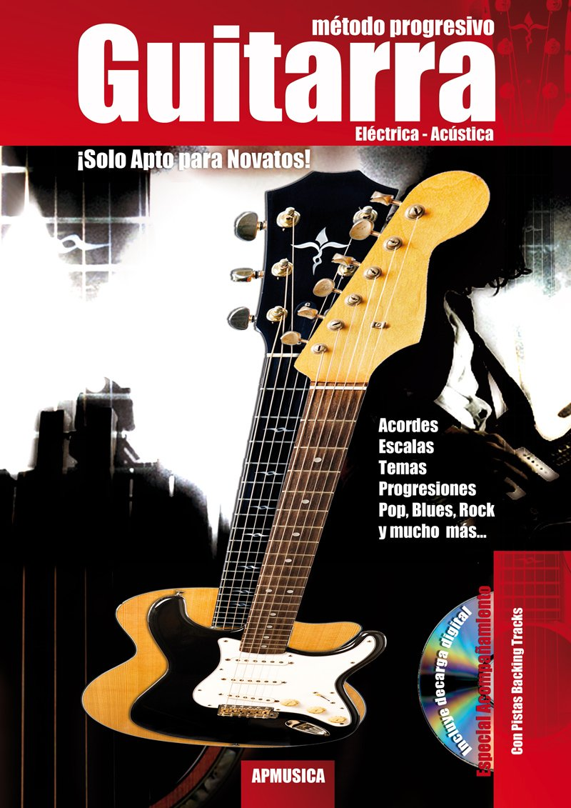MARTINEZ Paul - Metodo Progresivo para Guitarra Electrica y Acustica Inc.CD: Amazon.es: MARTINEZ Paul: Libros