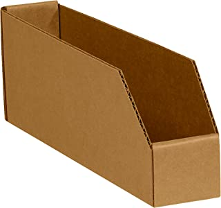 """product image for Partners Brand PBINEB1818 Open Top Bin Boxes, 18"""" x 18"""" x 4-1/2"""", Oyster White (Pack of 50)"""