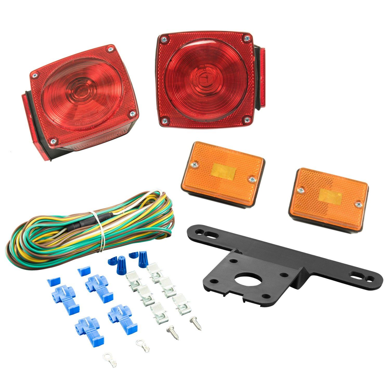 Lighting Technologies Red LT443 Light Kit-Trailers Under 80-Inches Wide by Lighting Technologies