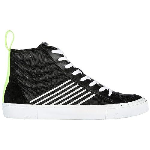 Emporio Armani EA7 Zapatos Zapatillas de Deporte largas Hombres Nuevo Pride negr: Amazon.es: Zapatos y complementos