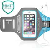 IPhone 7 , 6 , 6S SPORTS Armband   Stores Phone, Cash, Cards and Keys , Great for Running, Cycling, Workouts or any Fitness Activity Securely in Stret