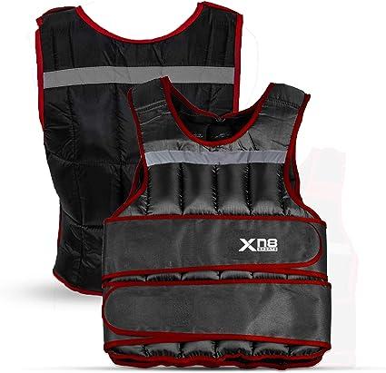 poids amovible 10 kg la course /à pieds r/églable Gilet lest/é Xn8 le Crossfit pour la perte de poids