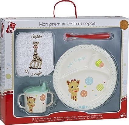 Sophie la Girafe Set dapprentissage Fresh Touch Coffrets Repas Vulli