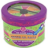 Melissa & Doug Truth or Dare Box of Questions Game (Mini) - 42 Conversation Starters on Cards