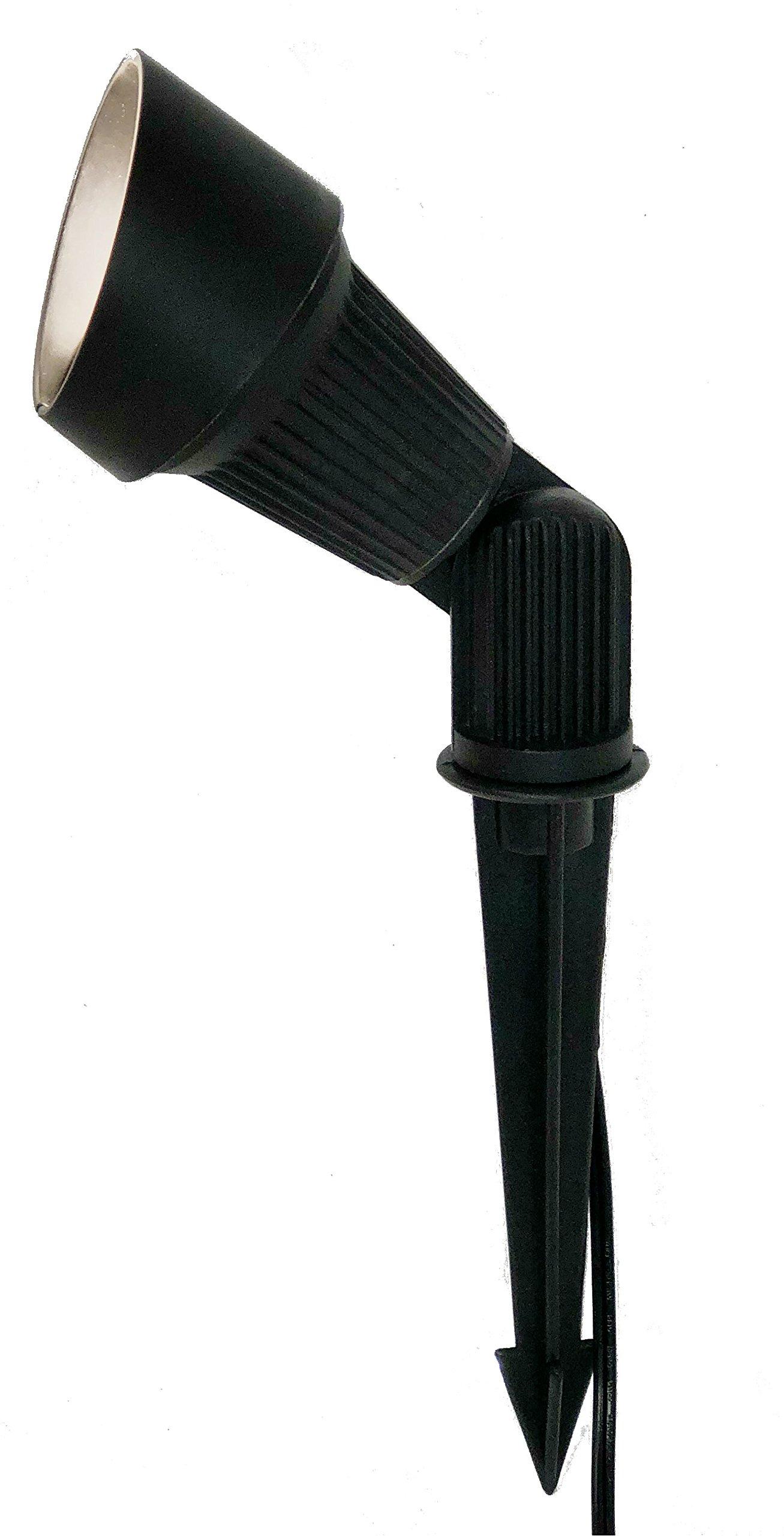 LED Landscape Lighting Fixture in Black (BPL-104)