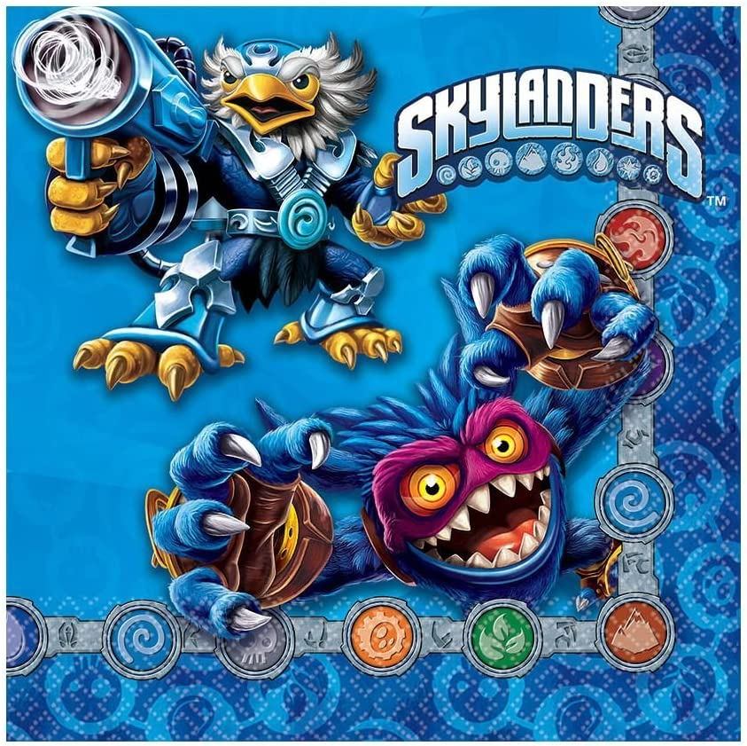 Skylanders Luncheon Napkins, Party Favor