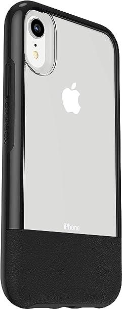 Otterbox Slim Case Bundle Set Aus Sturzsicherer Schutzhülle Ultrarobustem Performance Glass Displayschutz Transparent Mit Lederapplikation Für Apple Iphone Xr Schwarz Elektronik