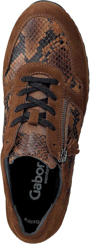 Gabor Sneaker 448 Cognac Damen: : Schuhe & Handtaschen